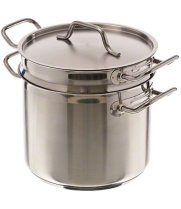 Update International SDB-08 - 8 Qt - Induction Ready Stainless Steel Double Boiler w/Cover