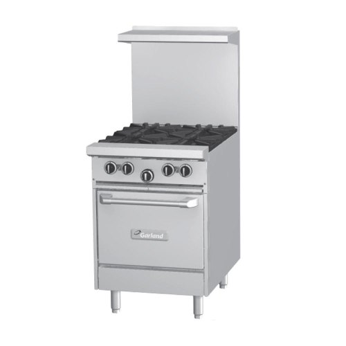 Garland G24-2G12S - 2 Burner Gas Range - (1) Storage Base