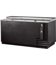 "True TD-65 - 65"" Horizontal Bottle Cooler - Forced Air"