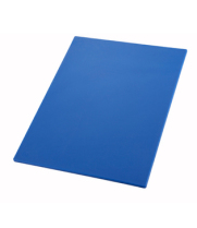 "Winco CBBU-1520 - 15"" x 20"" x 1/2"" Plastic Cutting Board"