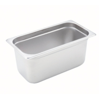 Winco Steam Table Pan 1/3 Size [SPJH-306]