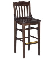 G & A Seating 9510 - Schoolhouse Bar Stool (12 per Case)