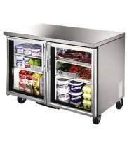 "True TUC-48G - 48.5"" Undercounter Refrigerator - 2 Glass Door 4 Shelves"