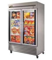 "True T-49FG - 54"" Reach-In Freezer - 2 Full Glass Swing Door"