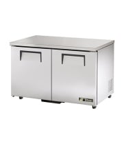 "True TUC-48-ADA - 48.5"" Undercounter Refrigerator - 2 Door 4 Shelves ADA Compliant"