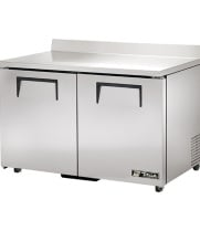 "True TWT-48F-ADA - 48.5"" Worktop Freezer - 2 Door ADA Compliant"