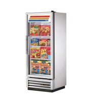 "True T-12FG - 25"" Reach-In Freezer - 1 Full Glass Swing Door, 3 Shelves"