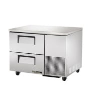 "True TUC-44D-2 - 27.75"" Deep Undercounter Refrigerator - 2 Drawers"
