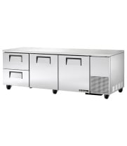 "True TUC-93D-2 - 93.25"" Deep Undercounter Refrigerator - 2 Door, 2 Drawers"