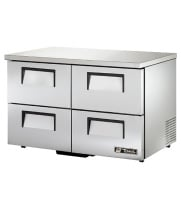 "True TUC-48D-4-LP - 48.5"" Low Profile Undercounter Refrigerator - 4 Drawers"