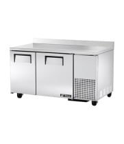 "True TWT-60-32F - 60.5"" Deep Worktop Freezer - 2 Door"