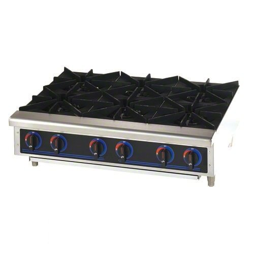 Universal Stainless Steel Pot Stove 6 Burner [OWST-019-6]