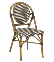 G & A Seating 808B - Aluminum Bamboo (12 per Case)