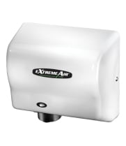 American Dryer GXT9 - ExtremeAir Automatic Hand Dryer with White ABS Cover