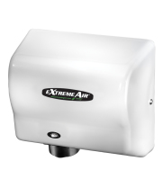 American Dryer EXT7 - ExtremeAir Unheated Automatic Hand Dryer with White ABS Cover