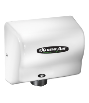 American Dryer EXT7-M - ExtremeAir Unheated Automatic Hand Dryer with White Steel Cover