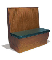 Robertson Furniture 180046S2 - Wood Single Booth