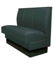 Robertson Furniture P100-S-42-46Q - Upholstered Single Booth