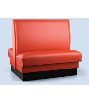 Robertson Furniture P100-D-42-46Q - Upholstered Double Booth