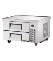 "True TRCB-36 - 36"" 2 Drawer Refrigerated Chef Base"