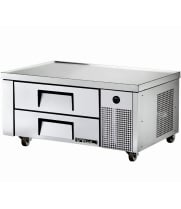 "True TRCB-48 - 48"" 2 Drawer Refrigerated Chef Base"
