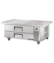 "True TRCB-52-60 - 60"" 2 Drawer Refrigerated Chef Base"