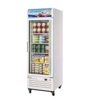 Turbo Air TGF-23F -  Reach-In Freezer - 1 Full Glass Swing Door, 4 Shelves, 27""
