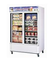 Turbo Air TGF-49F -  Reach-In Freezer - 2 Full Glass Swing Door, 8 Shelves, 54""