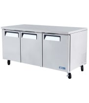 "Turbo Air MUR-72 - Undercounter Refrigerator 72"" - M3 Series"