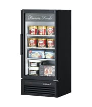 Turbo Air TGF-10SD -  Reach-In Freezer - 1 Full Glass Swing Door, 3 Shelves, 25.75""