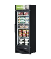 Turbo Air TGF-15SD -  Reach-In Freezer - 1 Full Glass Swing Door, 4 Shelves, 26""