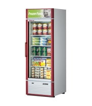 Turbo Air TGF-23SD -  Reach-In Freezer - 1 Full Glass Swing Door, 4 Shelves, 27""
