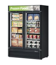 Turbo Air TGF-47SD -  Reach-In Freezer - 2 Full Glass Swing Door, 4 Shelves, 51""