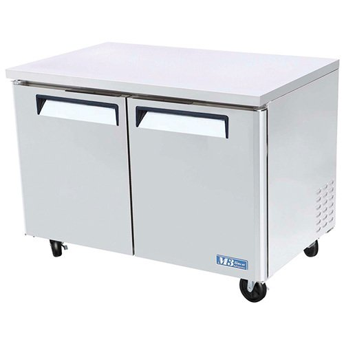 Turbo Air Undercounter Refrigerator 2 Door - 48.25