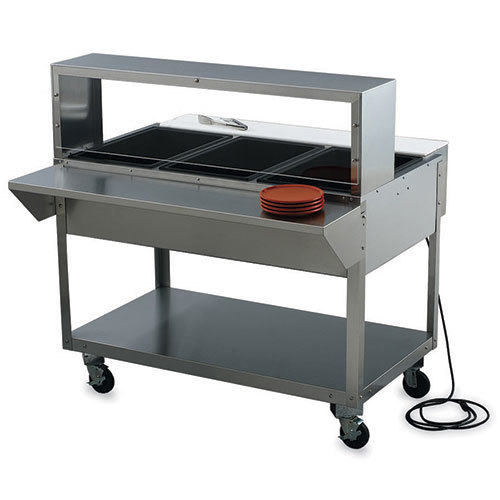 Vollrath Electric Hot Food Table ServeWell Wells W - Electric hot food table