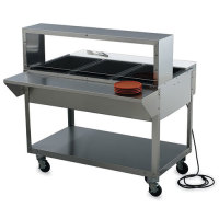 Vollrath ServeWell SL Electric Hot Food Table, 3 Wells 46