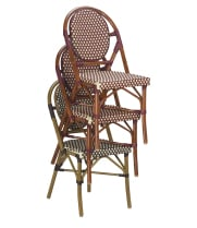G & A Seating 808M - Aluminum Bamboo (12 per Case)