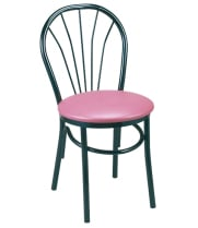G & A Seating 592-ER - Cafe Chair (12 per Case)