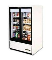 "True GDM-33SSL-54 - 47"" Glass Door Reach In Refrigerator"