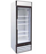 "Universal SB27SC - 27"" Glass Door Reach In Refrigerator"