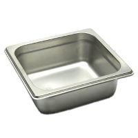 Winco Steam Table Pan, 1/6 size x 2-1/2 inch deep [SPJM-602]