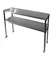 "Universal ADBS1260 - 12"" X 60"" Double Overshelf - Adjustable"