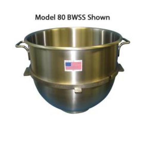 Hobart - 10VBWL - 10 QT. Heavy Duty Stainless Steel Mixing Bowl