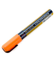 Universal BLSMA510OR - American Metalcraft Securit All-Purpose Small Tip Orange Marker - 2 / Pack