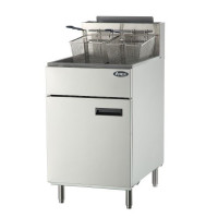 Atosa ATFS-75 - 75 lb. Commercial Stainless Steel Deep Fryer - Liquid Propane