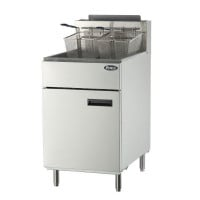 Atosa ATFS-75 - 75 lb. Commercial Stainless Steel Deep Fryer - Natural Gas