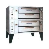 Attias Turbo Deck Natural Gas Pizza Oven - Double Deck 78