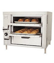 Bakers Pride GP-51 - Gas Double Compartment Countertop Oven 32""