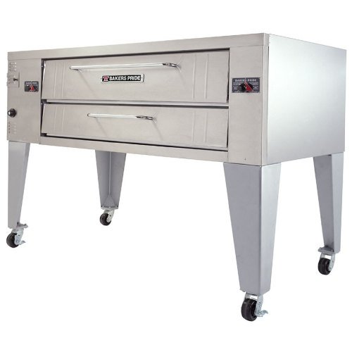 Bakers Pride Y600 - Gas Pizza Deck Oven - 1 Deck, 60