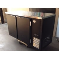 Universal Coolers BB48B - Solid Door Back Bar Cooler - 48
